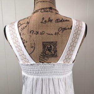 BCBGMaxAzria Dresses - BCBG Square Neckline Sleeveless Sun Dress🏺⚱️🏺